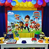 UJGTAR Replacement For Paw Patrol Birthday Party