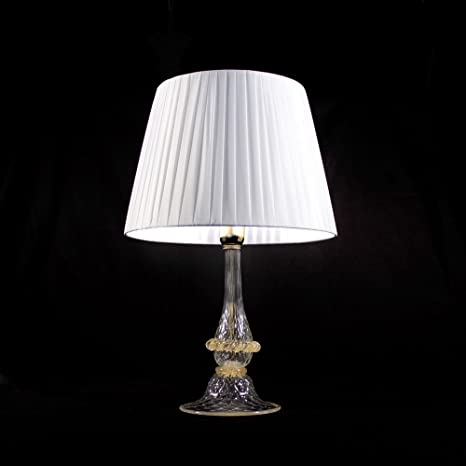 Prezzi Lampade Da Ufficio.Ampolla Lampada Da Tavolo In Vetro Di Murano Amazon It