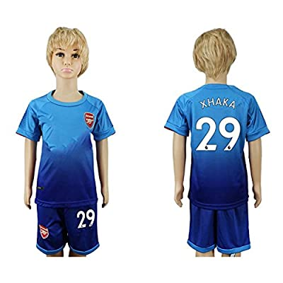 Soc.Meku 17/18 England Club 29 Kids Soccer Training Jersey&Free Shorts All Youth Sizes