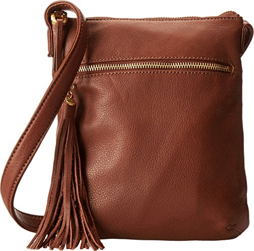 HOBO Supersoft Sarah Cross-Body Handbag,Brandy,One Size