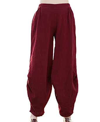 NiSeng Mujer Casual Bloomers Pantalones Harem Pantalones ...