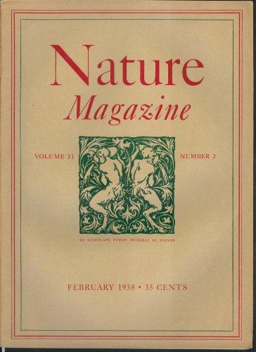 (NATURE MAGAZINE Gerenuk Marigold Rotogravure Wisconson Deer New Zealand 2 1938)