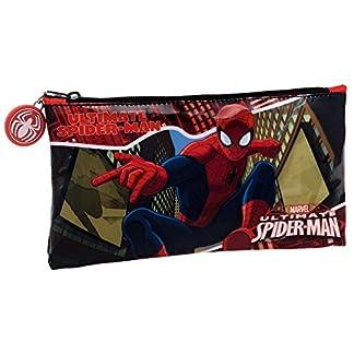 Spiderman Neceser de Viaje, 0.76 Litros, Color Rojo