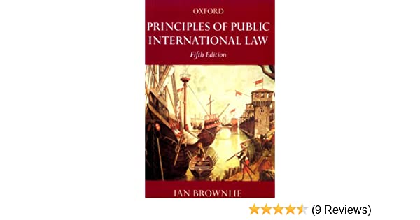 International brownlie public principles download of law ebook