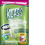 Klass Aguas Frescas Lemonade Flavored Drink Mix (Pack of 36)