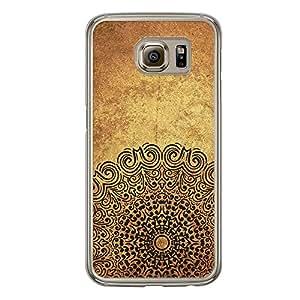 Loud Universe Samsung Galaxy S6 Madala N Marble A Madala 7 Printed Transparent Edge Case - Yellow
