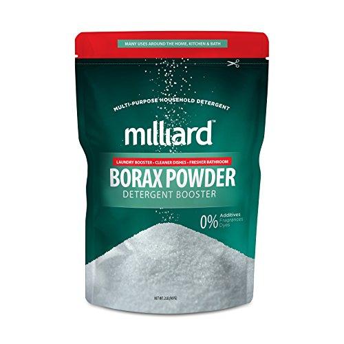 MILLIARD Borax Powder - Pure Multi-Purpose Cleaner 2 lb. Bag - Purpose Multi Powder