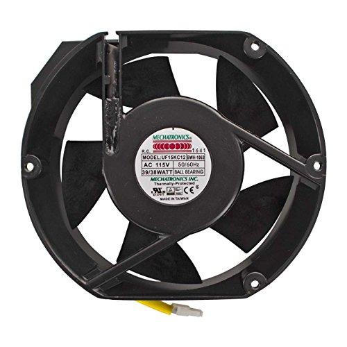 Miller 213072 Fan, Muffin 115V 60Hz 3400 Rpm 6.378 Mtg Holes