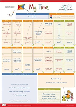 Amazon.com: My Time Chart Supporting Children Through Parental ...