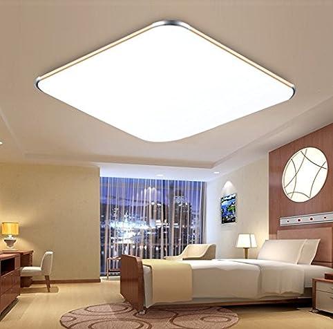SAILUN 36W Kaltweiss Ultraslim LED Deckenleuchte Modern Deckenlampe Flur Wohnzimmer Lampe Schlafzimmer Kuche Energie Sparen Licht