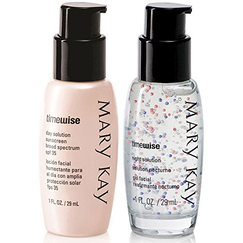 Night Solution Day - Mary Kay TimeWise Miracle Set Day Solution Sunscreen + Night Solution 1.0 fl. oz / 29 mL
