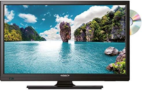 ANTARION televisor HD DVD Dvix Slim LED 23,6 12 V 24 V 220 V Tuner 4 K DVB-T2: Amazon.es: Electrónica