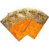 PAISLEYS Enlighten Cash Gifting & Shagun Envelope for Festivals, Pack of 5, Orange