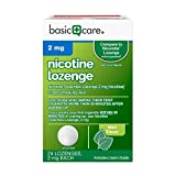 Nicotine Lozenge 2mg, Stop Smoking Aid, Mint, 24 Count