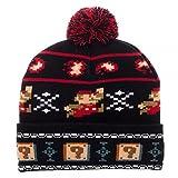 Super Mario Bros NINTENDO Fair Isle Winter Knit Hat
