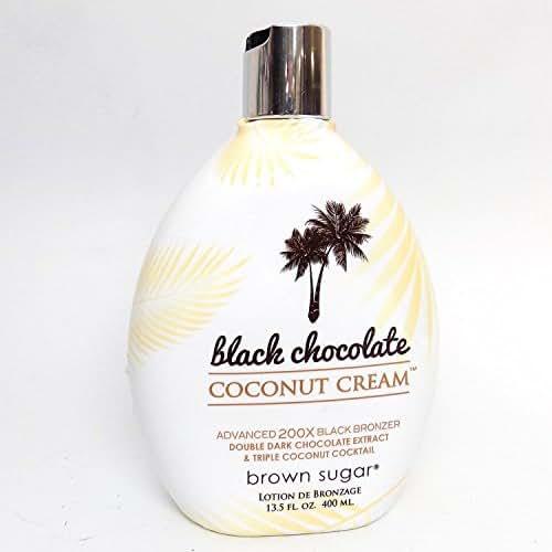 Brown Sugar BLACK CHOCOLATE COCONUT CREAM 200X Bronzer - 13.5 oz.