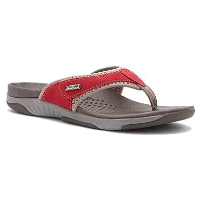 Womens Propet Hartley Xt Sandals Silver QVF10215