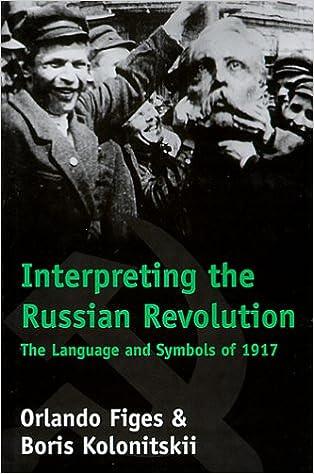 "Capa do livro ""Interpreting Russian Revolution""."
