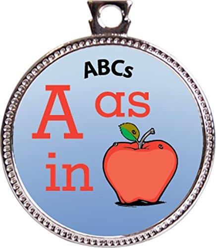 ABCs Award, 1 inch dia Silver Medal