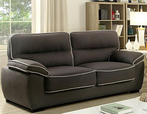 Furniture Of America Cm6504 Sf Elly Furniture Not Applicable Graphite Best Sofas Online Usa