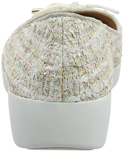 Donna 535 Ballerine Chiusa Punta Tweed Luxe Superchic Rosa Dusky Ballerinas Pink Fitflop w0IqFPw