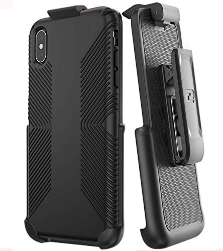 Encased Belt Clip Holster for Speck Presidio Grip Case - Apple iPhone Xs MAX (case not Included)