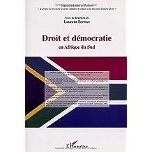Droit et démocratie en afriquedu sud