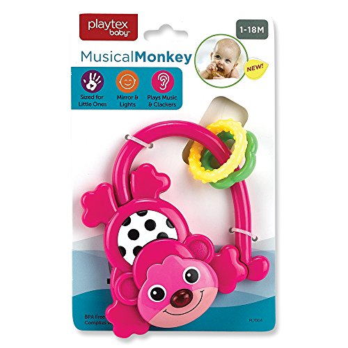 Playtex Musical Monkey Pink ()