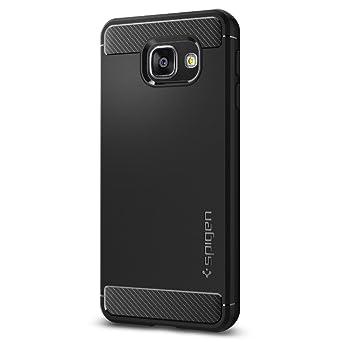 Spigen Rugged Armor Designed For Samsung Galaxy A3 Case (2016)   Black by Spigen