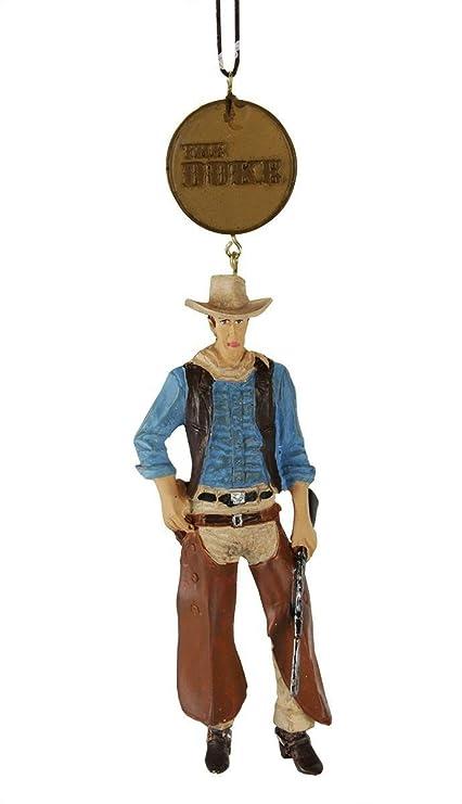 John Wayne Western Cowboy with Rifle Christmas Ornament - Amazon.com: John Wayne Western Cowboy With Rifle Christmas Ornament