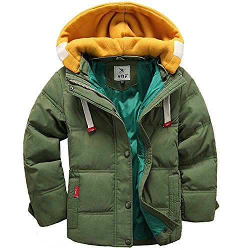 Newmarket Jacket (Jackets Boys Coats Children Christmas Jackets Boys Coats Baby Girls Kids Outerwear Green 8)