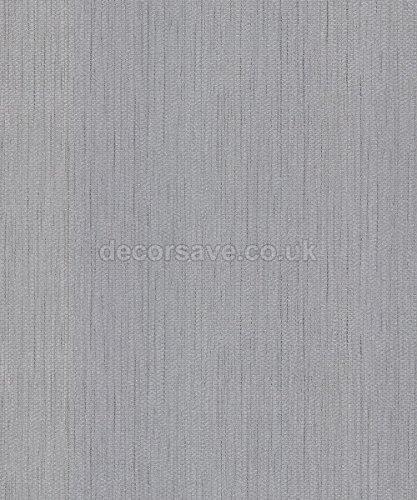 Belgravia Decor Moda Black Dahlia Wallpaper 7003 - Textured Glitter Silver by Belgravia Decor