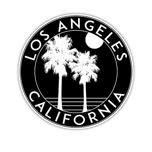 Los Angeles California Decal 3