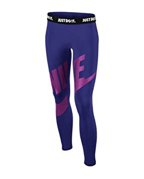 ce887895a Nike Futura Graphic Girl's Leg A See Tight Girls Outerwear - Purple ...
