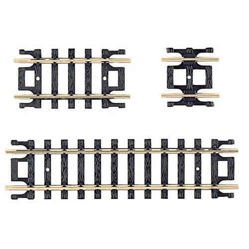 Atlas N Code 80 Nickel Silver Straight Snap-Track Assortment ()