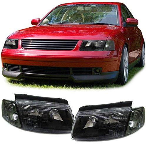 Carparts-Online 15971 Schwarze Scheinwerfer H7 H1 Blinker