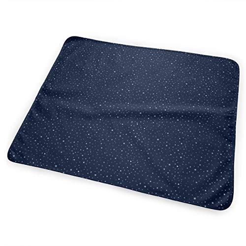 Firebird Coordinating Stars (for Fat Quarter and Moonless Sizes) Washable Incontinence Pad Baby Changing Pad Pet Mat Large Size 25.5 x 31.5 inch (65x80 cm)