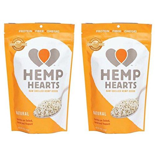 Manitoba Harvest Hemp Hearts Raw Shelled Hemp Seeds, Natural, 1 Pound (1 Pound. Pack of 2)