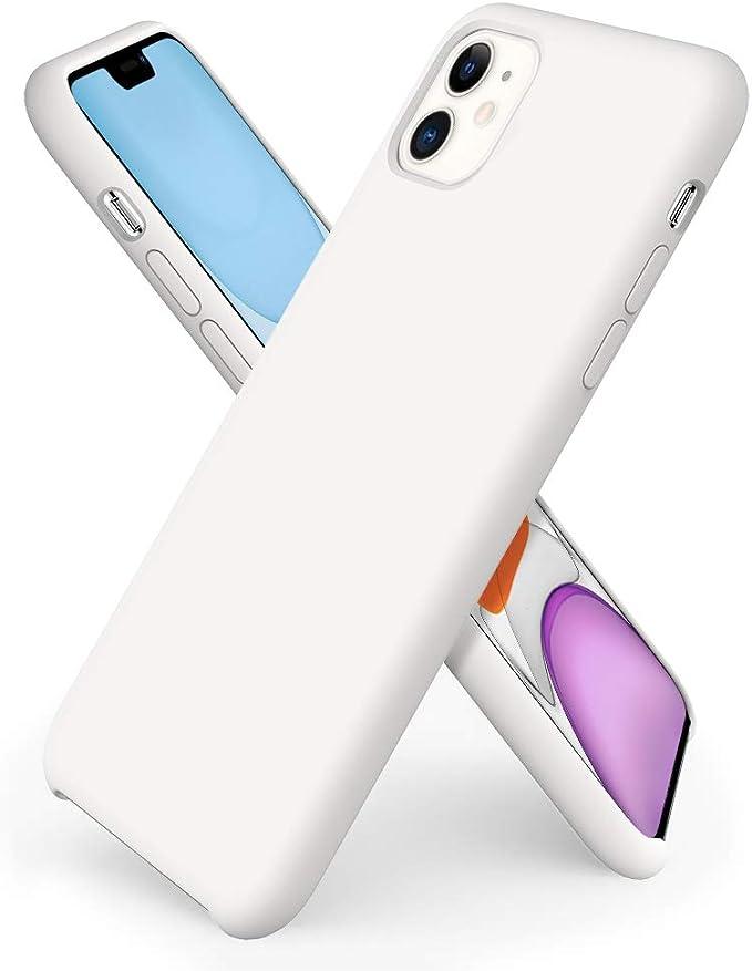 Ornarto Iphone 11 Silicone Case Liquid Silicone Ultra Elektronik