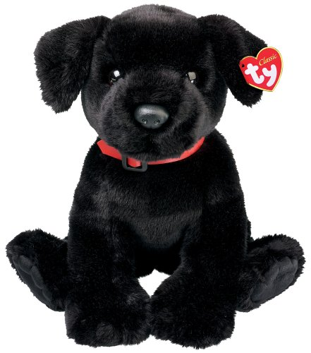 Amazon Com Ty Tugger Black Labrador Toys Games