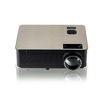 Mini Proyector,portátil Compatible con 1080P LCD Proyector de Cine ...