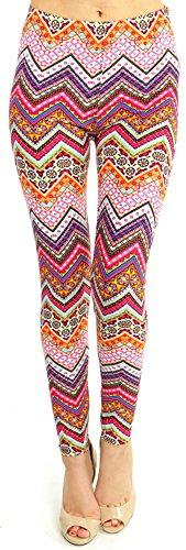 - 515K7pOxbEL - LMB | Lush Moda | Women's Extra Soft Leggings | Variety of Prints | One Size