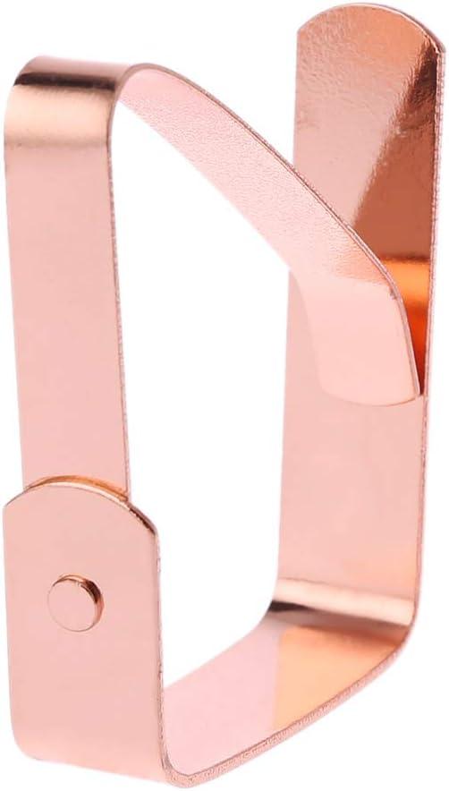 Fermatovaglia in acciaio inox 4 pezzi