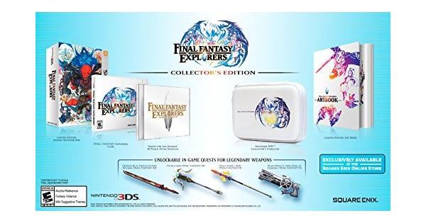 Final Fantasy Explorers Collectors Edition - Nintendo 3DS by Square Enix: Amazon.es: Videojuegos