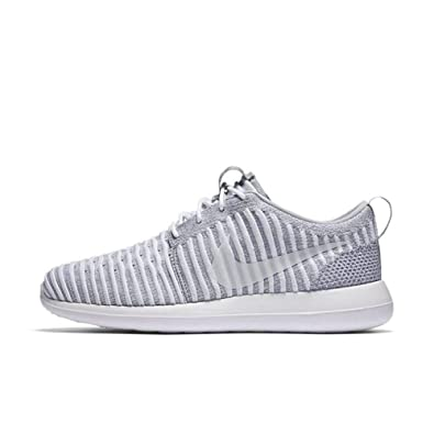 a9d35bb16b97 Image Unavailable. Image not available for. Color  Nike Womens Roshe Two  Flyknit Low Top Lace Up Running
