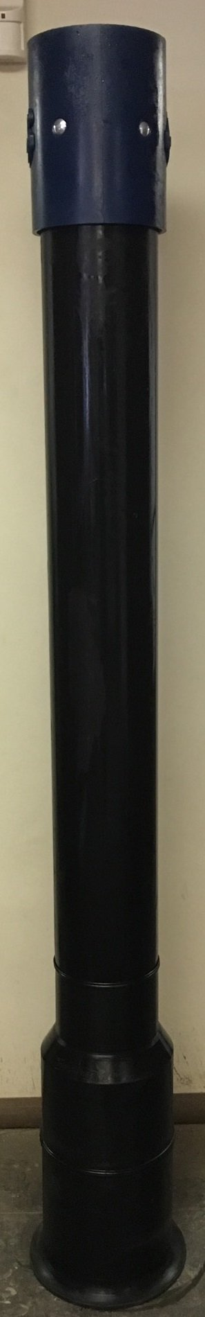 6'' Poly Dig Tube with Flat Flange