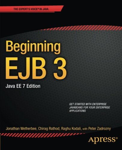 Download Beginning EJB 3, Java EE, 7th Edition