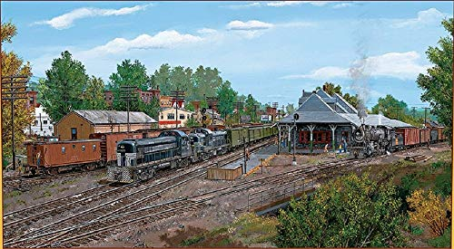 (RAILROAD JIGSAW PUZZLE - New York Central Railroad at Palmer)