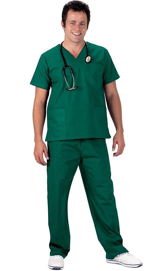 NCD Medical/Prestige Medical 50309-1 - Camisa de uniforme médico, color blanco, talla M: Amazon.es: Industria, empresas y ciencia