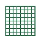 UniEco Fiberglass Grating 12''x12'' Molded Grating Commercial Grid Panels 6Pack Green